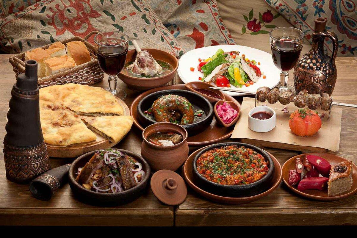 Особенности банкетного меню в грузинском ресторане